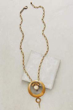 Mondo Pendant Necklace - #anthroregistry