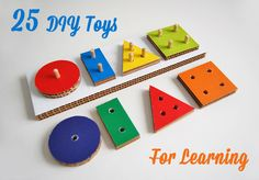 25 DIY Toys for Learning~