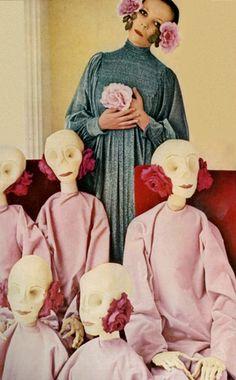 Penelope Tree in Vogue UK 1972