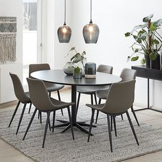 Dining Table Sizes, Rectangle Dining Table, Dining Table Legs, Dining Table In Kitchen, Dining Area, Dining Chairs, Interior Inspiration, Room Inspiration, Interior And Exterior