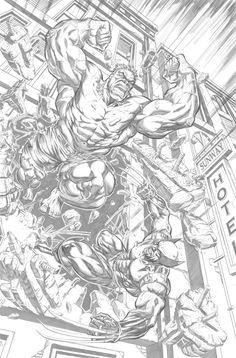 #Hulk #Fan #Art. (Hulk vs Wolverine) By:Ishanv. (THE * 3 * STÅR * ÅWARD OF: AW YEAH, IT'S MAJOR ÅWESOMENESS!!!™)[THANK Ü 4 PINNING!!!<·><]<©>ÅÅÅ+(OB4E)       https://s-media-cache-ak0.pinimg.com/564x/2c/d6/36/2cd63636d999ae061484811343b359f7.jpg