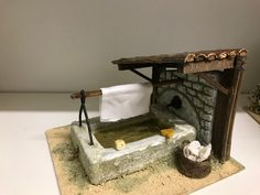 Medieval Houses, Christmas Town, Ceramic Houses, Bird Houses, Cribs, Nativity, Entryway Tables, Diy And Crafts, Creations