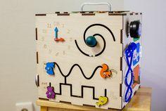 BusyBox ocupado de tablero madera juguetes actividad
