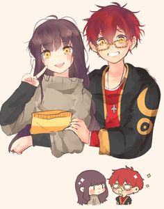 707, mystic messenger, and luciel choi 이미지