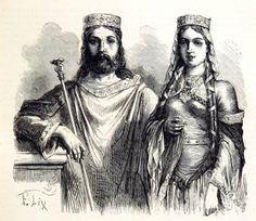 Clovis, Chlodowech, Chlodwig, Chlodovech, Clothilde of Burgundy, Merovingian, Frankish king, Clovis, Clothilde of Burgundy