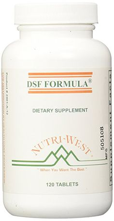 nutri-west DSF Formula Tablets, 120 Count...WISH SOMEONE COULD EXPLAIN THIS TO ME!