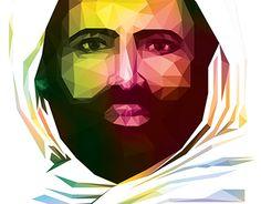 "Check out new work on my @Behance portfolio: ""Low Poly - Syech Abdul Qadir Al Jaelani"" http://on.be.net/1NY2rxC"