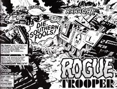 Rogue Trooper #1 (With images) | Comic books art, 2000ad comic ... | 180x236
