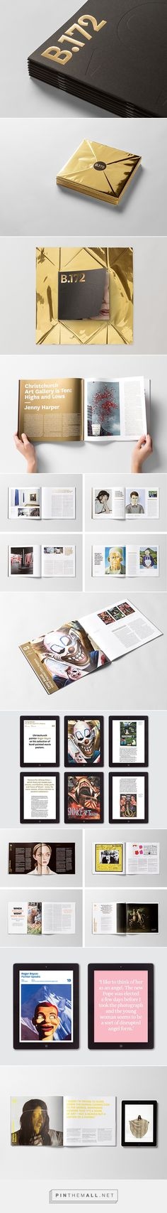 Bulletin 172 | Editorial on Behance - created via http://pinthemall.net