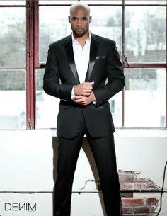 Dapper Dad: Boris Kodjoe, Serving Up Style Boris Kodjoe, Sharp Dressed Man, Well Dressed Men, Black Tuxedo Wedding, Hot Men, Sexy Men, Handsome Black Men, Bald Men, Fine Men