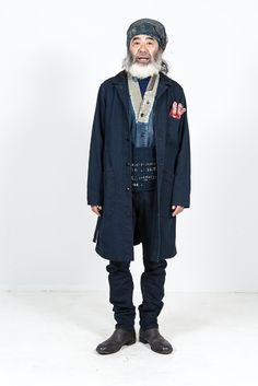 Kapital Japan clothing long john blog fall winter 2015 people indigo boro sashiko jeans denim selvage fabrics style jacket jack pants hats blue natural brand  (1)