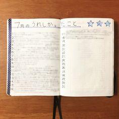 生活の全てを1冊のノートに記録し管理する!私のバレットジャーナルの中身紹介。 - わたしのバレットジャーナル How To Make Notes, Bullet Journal, Cool Stuff, Handmade, Sketchbooks, Scrapbooks, Notebooks, Pens, Study