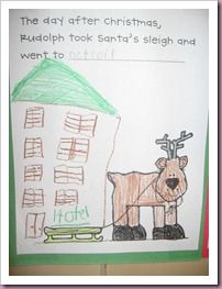 Where did Rudolph take Santa's sleigh the day after Christmas?