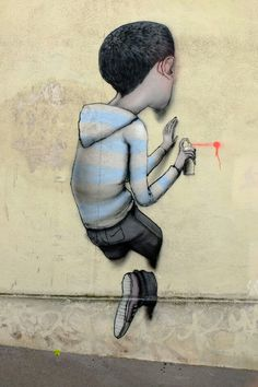Seth - street art - Paris 13 - passage sigaud