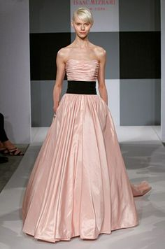 Blush Colored Wedding Dress, Light Pink, Designer Gowns    Colin Cowie Weddings