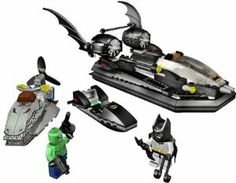Batboat Hunt for Killer Croc Batman Lego . $491.08. Guide the Batboat hovercraft, hot on the trail of Killer Croc and his swamp jet ski. Set includes Batman and Killer Croc mini figures and a collection of Batman gadgets. 254 colorful pieces. Batboat features dual-action props and a docking port to tow the captured Croc-crook back to jail. For ages 7 - 12 yrs.. Review Even after the streets of Gotham have been swept clean of evil-doers, the swamps still provide re...