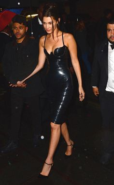 Lovely in Latex: Bella Hadid's Best Looks