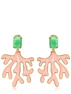 House of Lavande Coral Earrings
