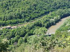 Gara Lainici vazuta de la Sfinxul Lainicilor River, Outdoor, Outdoors, Outdoor Games, The Great Outdoors, Rivers