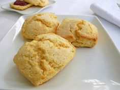 :pastry studio: Cornmeal Buttermilk Biscuits - Once the biscuits are cut out, turning them upside down to bake gives them better loft.