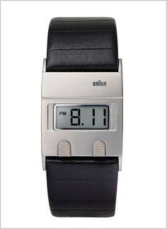 Braun Reissues A Sleek Digital Watch by Dieter Rams   Co.Design