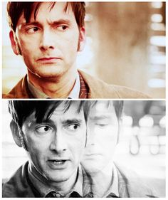 Return of the tenth doctor in the Day of the Doctor. This exact part broke my heart.