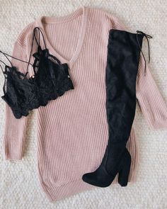 Lulus Bringing Sexy Back Mauve Backless Sweater Dress Cute Casual Outfits, Girly Outfits, Pretty Outfits, Outfits For Teens, New Outfits, Stylish Outfits, Casual Skirts, Winter Fashion Outfits, Cute Fashion
