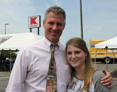 Meghan with Senator Scott Brown at 8th Annual Troops in the Spotlight