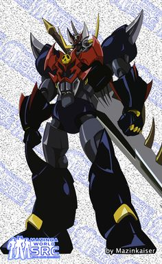 Shotgun Warrior Mazinga a.k.a. Mazinger Z. Concept Art by Dynamic Planning Studios