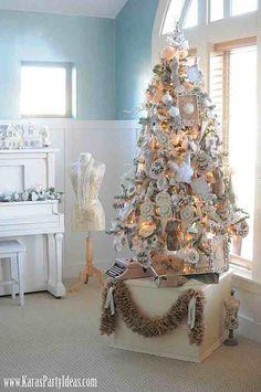Kara's Party Ideas Tree- Michaels Holiday Dream Tree Challenge