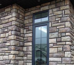 Bucks County Limestone | Cultured Stone Bucks County Limestone exterior wall house front ...