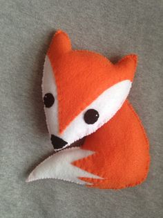 A personal favorite from my Etsy shop https://www.etsy.com/listing/225840221/fox-stuffed-animal
