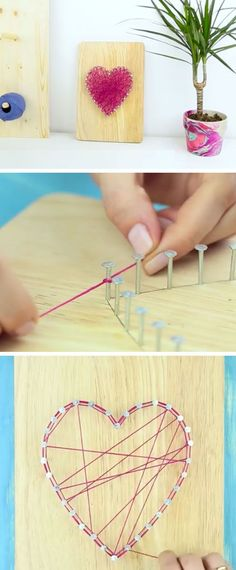 DIY String Wall Art | DIY Home Decor Ideas on a Budget Living Room | Easy Decorating Ideas for the Home Hacks