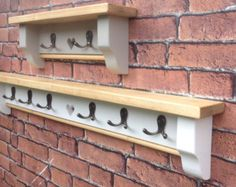 Welcome home hat and coat rack shelf Shabby Chic by heartinwood