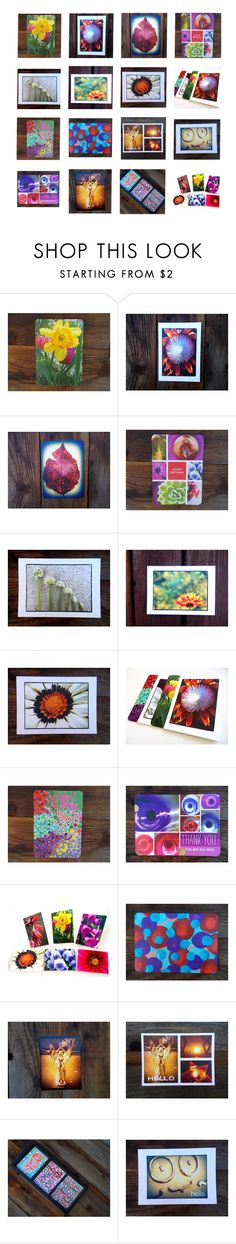 Colorful Greeting Cards by fivefoot1designs on Polyvore featuring interior, interiors, interior design, home, home decor and interior decorating