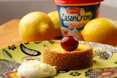 Torta helada de limón - Lemon Iced Cake