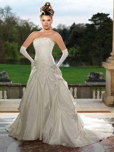 """Robe de mariée tomy mariage modèle """"framboise"""" couleur ivoire"""