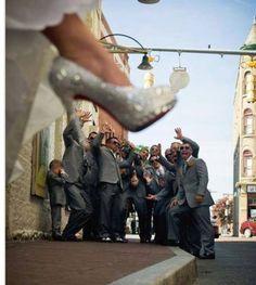 Swarovski Crystal Embellished CL's Custom made shoes