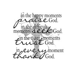 Light Box Insert  - In the Happy Moments Praise God -- ChristianGiftsPlace.com Online Store $11.55