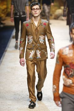 Male Fashion Trends: Dolce & Gabbana Fall/Winter 2016/17 - Milán Fashion Week