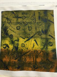 Paul Klee style - Week 8 - Acrylic Revolution II - teacher Melanie Matthews