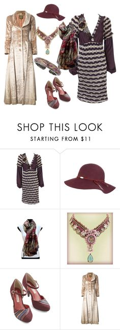 """Bo-Ho Chic"" by angiemine213 ❤ liked on Polyvore featuring Not So Serious, Rip Curl, CO, Biba and Matthew Campbell Laurenza"