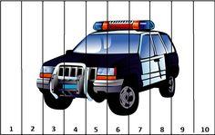 polícia-puzzle Kindergarten Fun, Kindergarten Worksheets, Preschool Activities, Community Workers, Community Helpers, People Who Help Us, Act For Kids, Transportation Theme, Teacher Cards