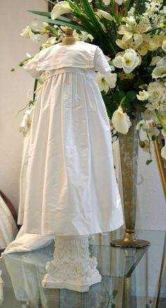 bcea74320 Christening Gowns Baptism Gown Heirloom Gown by CouturesbyLaura, $249.99  Boy Baptism Outfit, Baby Boy