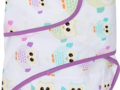 Miracle Blanket®: Owls with Purple trim Swaddle Wrap, Baby Swaddle, Swaddle Blanket, Miracle Blanket, Childrens Beds, Baby Sleep, Purple, Pink, Blue