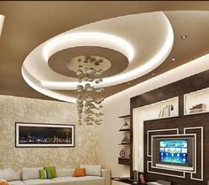 Jaw-Dropping Cool Tips: False Ceiling Ideas Window false ceiling entrance curtains.False Ceiling Design Modern false ceiling design for salon.False Ceiling Living Room L Shape. Pop Design, Ceiling Lights, Ceiling, False Ceiling Design, Diy Ceiling, Modern Ceiling, Ceiling Design Modern, Living Room Wood, Living Room Designs