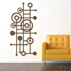 awesome mid century/modern wall art