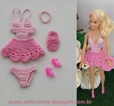 Pink Crochê: Vestidinho. www.pinkcroche.blogspot.com.br