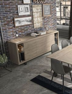 22% reduziert: Sideboard CLAY Modern braun Eiche 220 cm breit Sideboard Modern, Outdoor Furniture Sets, Outdoor Decor, Corner Desk, Home Decor, Dining Table Chairs, Chest Of Drawers, Types Of Wood, Engineered Wood