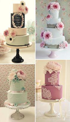 Cotton and Crumbs Wedding Cakes | www.onefabday.com
